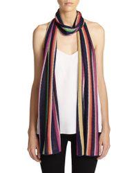 Missoni Vertical Striped Scarf multicolor - Lyst