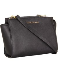 MICHAEL Michael Kors Medium Selma Messenger - Lyst