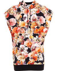 Givenchy Sleeveless Hooded Sweatshirt - Lyst