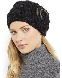 Grace Hats - Bride Watch Knit Beret - Lyst