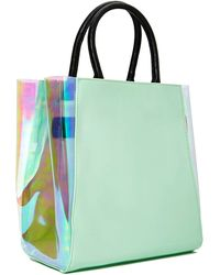 Nasty Gal Space and Time Tote - Lyst
