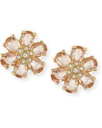Kate Spade | At First Blush Crystal Stud Earrings | Lyst