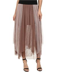 Free People Dotted Mesh Sugar Plum Tutu Skirt - Lyst