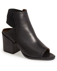 Sixtyseven - 'polly' Open Toe Bootie - Lyst