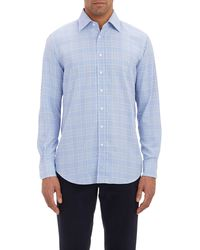 Etro Glen Plaid Shirt - Lyst