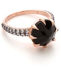 Katie Rowland Vengeance Ring Blackrose Gold - Lyst
