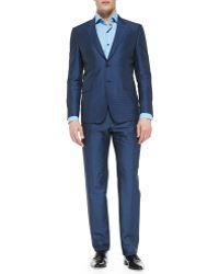 Paul Smith The Byard Herringbone Dot Suit - Lyst