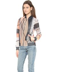 Clover Canyon - Palm Springs Perforated Jacket - Lyst