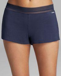 Calvin Klein Icon Sleep Shorts - Lyst