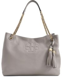 Tory Burch Thea Chain Shoulder Slouchy Tote - Lyst