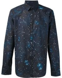 Paul Smith Constellation Print Shirt - Lyst