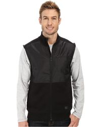 Calvin Klein Jeans Fleece Vest With Nylon - Lyst
