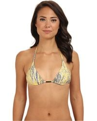 Vix Ruda Yellow Tri Top - Lyst