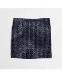 J.Crew Factory Tweed Mini - Lyst