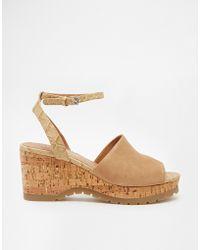 Aldo Sevenadia Wedge Heeled Sandals - Lyst
