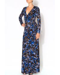 Yumi Kim Split It Up Maxi blue - Lyst
