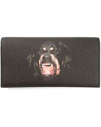 Givenchy Rottweiler Continental Wallet - Lyst