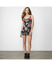 Denim & Supply Island Floral Romper - Lyst