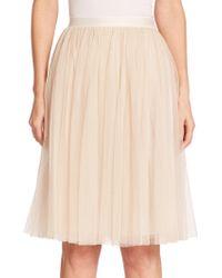 Needle & Thread Tulle Midi Skirt - Lyst