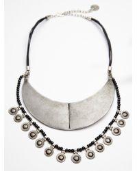 Free People Yilan Coin Collar - Lyst