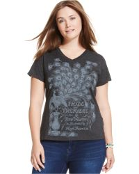 Out Of Print - Plus Size Pride And Prejudice Graphic Tee - Lyst