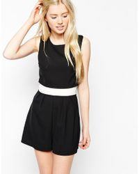 Wal-G - Tailored Playsuit - Lyst