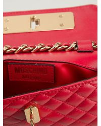 Moschino - Quilted Bag Belt - Lyst