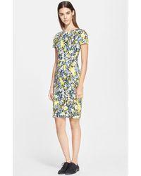 Erdem Floral Print Sheath Dress - Lyst