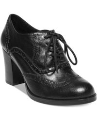 Steve Madden Womens Junni Oxford Booties - Lyst
