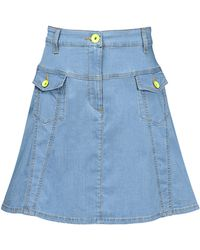 Love Moschino Mini Skirt - Lyst