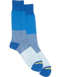 Paul Smith Mélange Colorblock Socks - Lyst