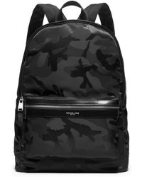 Michael Kors Kent Camouflage Nylon Jacquard Backpack - Lyst