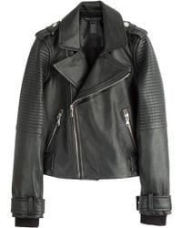Marc By Marc Jacobs Leather Biker Jacket - Lyst