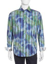 Robert Graham Bluegrassprint Buttondown Shirt - Lyst