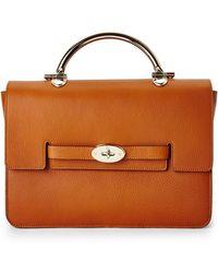 Mulberry Ginger Bayswater Handbag - Lyst