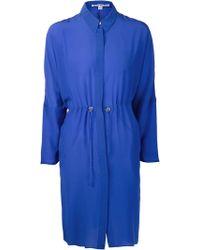 Acne Studios Peg Crepe Shirt Dress - Lyst