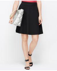 Ann Taylor Circle Skirt - Lyst