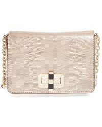 Diane von Furstenberg | '440 Gallery Bellini' Crossbody Bag - Metallic | Lyst
