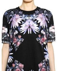 Givenchy Cotton Jersey Short Sleeved Tshirt - Lyst