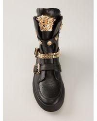 Versace Medusa Hitop Sneakers - Lyst