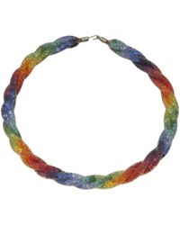 Peppercotton - Twisted Mesh Link Necklace - Lyst