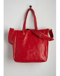 Nila Anthony - Tote With A Twist Bag - Lyst