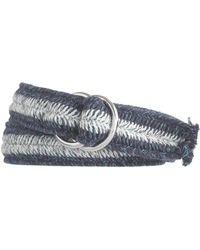 J.Crew Stripe Woven Belt - Lyst