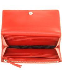 Balenciaga Classic Money Leather Wallet - Lyst