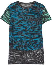 Proenza Schouler Printed Cotton Tshirt - Lyst