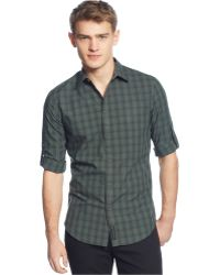 Calvin Klein Jeans Check Shirt - Lyst