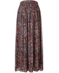 IRO | Gisele Maxi Flower Print Skirt | Lyst