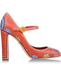 Dolce & Gabbana Pumps red - Lyst