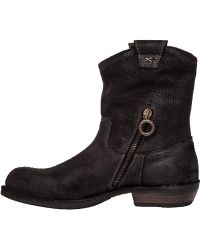 Fiorentini + Baker | Cruna Suede Ankle Boots | Lyst