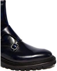 Yang Li - Double Monk Strap Leather Boots - Lyst